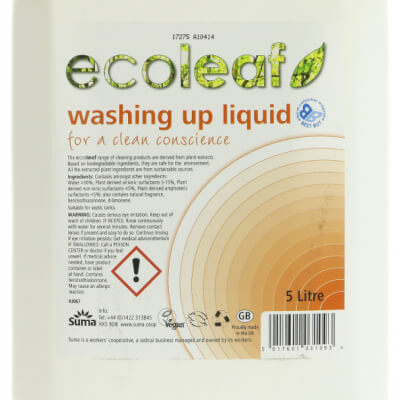 Ecoleaf Washing Up Liquid