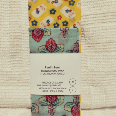 Beeswax Food Wraps- Twin Pack