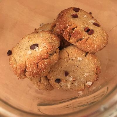 Grain-Free Tahini Cookies (Orange Spice)