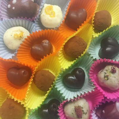 Raw Chocolate Selection Box