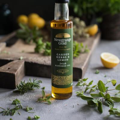 Newgrange Gold Garden Herbs Rapeseed Oil 250Ml