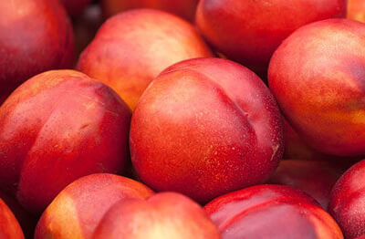 A Punnet Of Necterines
