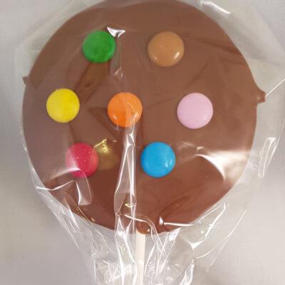 Giant Candy Bean Lollipop