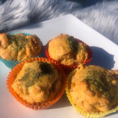 Sun Dried Tomato And Pesto Muffins